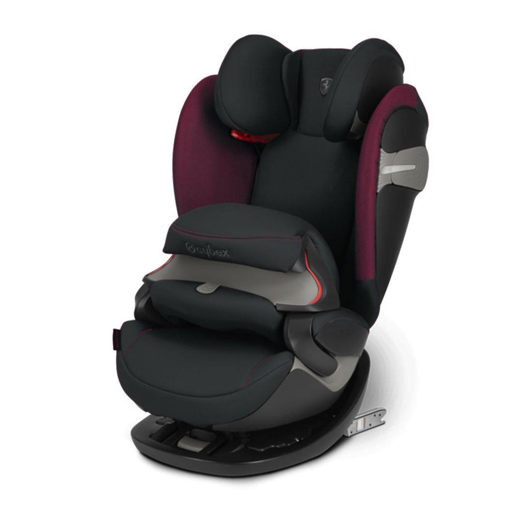Cybex Pallas S-Fix Car Seat - Scuderia Ferrari - Victory Black-Car Seats- Natural Baby Shower