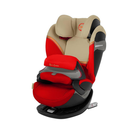 Cybex Pallas S-Fix Car Seat - 2020 - Autumn Gold-Car Seats- Natural Baby Shower