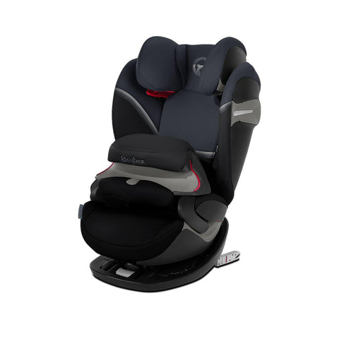Cybex Pallas S-Fix Car Seat - 2020 - Granite Black-Car Seats- Natural Baby Shower