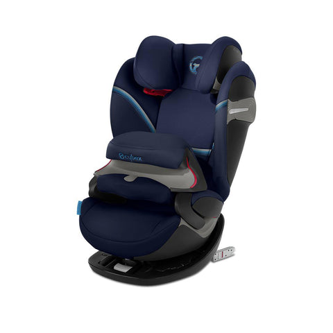 Cybex Pallas S-Fix Car Seat - 2020 - Navy Blue-Car Seats- Natural Baby Shower