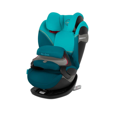 Cybex Pallas S-Fix Car Seat - 2020 - River Blue-Car Seats- Natural Baby Shower