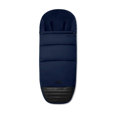 Cybex Platinum Footmuff - Indigo Blue-Footmuffs- Natural Baby Shower