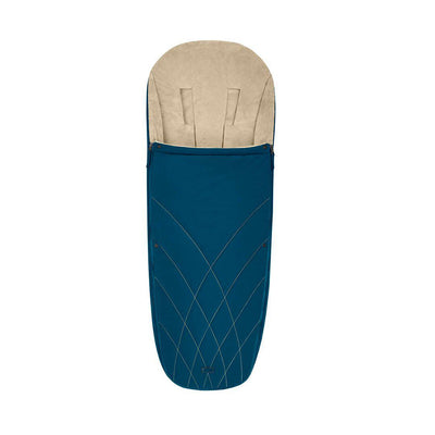 Cybex Platinum Footmuff - 2020 - Mountain Blue-Footmuffs- Natural Baby Shower