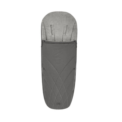 Cybex Platinum Footmuff - 2020 - Soho Grey-Footmuffs- Natural Baby Shower