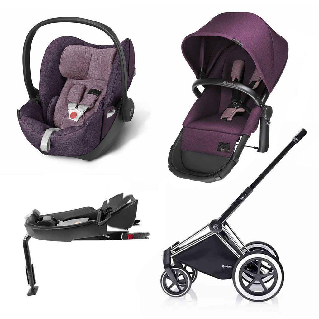 Cybex Priam 2-in-1 Travel System - Princess Pink