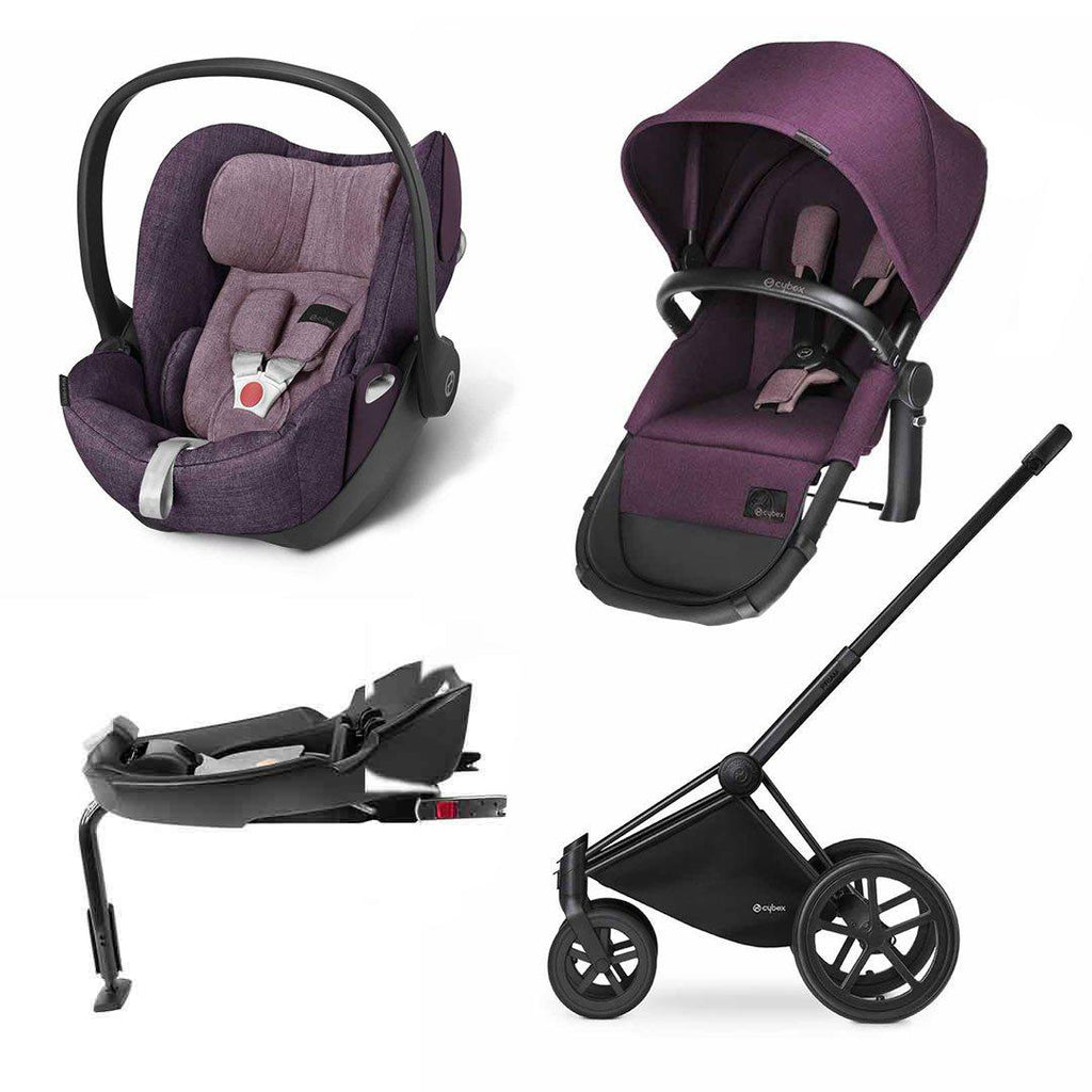 Cybex Priam 2-in-1 Travel System - Princess Pink 1