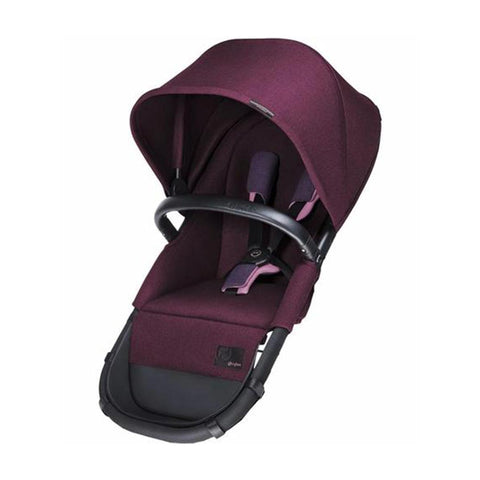 Cybex Priam 2in1 Light Seat - Grape Juice-Stroller Seats- Natural Baby Shower