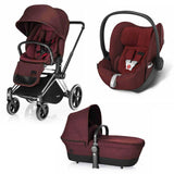 Cybex Priam Lux Travel System - Mars Red