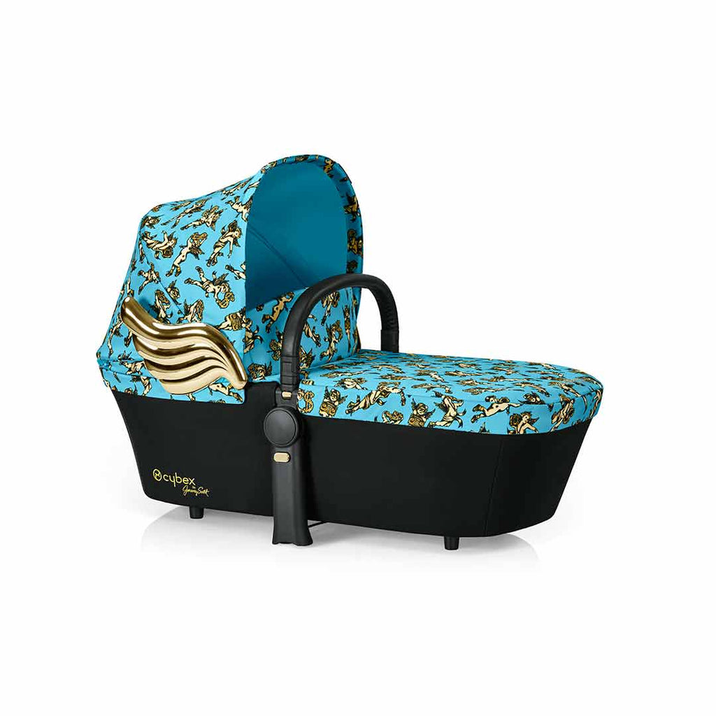 Cybex Priam Carrycot - Cherub Blue by Jeremy Scott-Carrycots- Natural Baby Shower