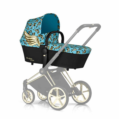 Cybex Priam Carrycot - Cherub Blue by Jeremy Scott 2