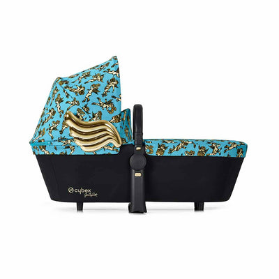Cybex Priam Carrycot - Cherub Blue by Jeremy Scott (2018)-Carrycots- Natural Baby Shower