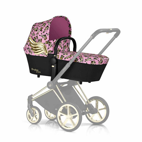 Cybex Priam Carrycot - Cherub Pink by Jeremy Scott 2