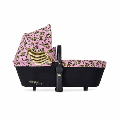 Cybex Priam Carrycot - Cherub Pink by Jeremy Scott