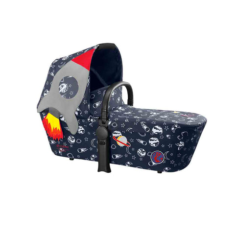 Cybex Priam Carrycot - Space Rocket (2018)-Carrycots-Space Rocket- Natural Baby Shower