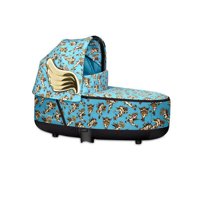 CYBEX Priam Carrycot Lux - Cherub Blue by Jeremy Scott-Carrycots- Natural Baby Shower