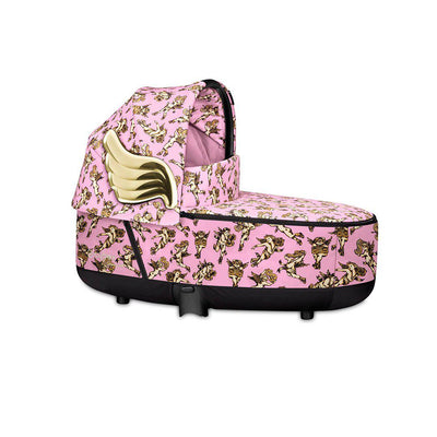 CYBEX Priam Carrycot Lux - Cherub Pink by Jeremy Scott-Carrycots- Natural Baby Shower