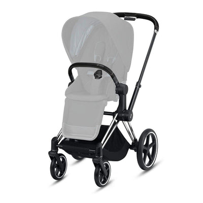 CYBEX Priam Frame with Seat Hardpart - Chrome & Black-Stroller Frames- Natural Baby Shower