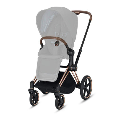 CYBEX Priam Frame with Seat Hardpart - Rose Gold-Stroller Frames- Natural Baby Shower