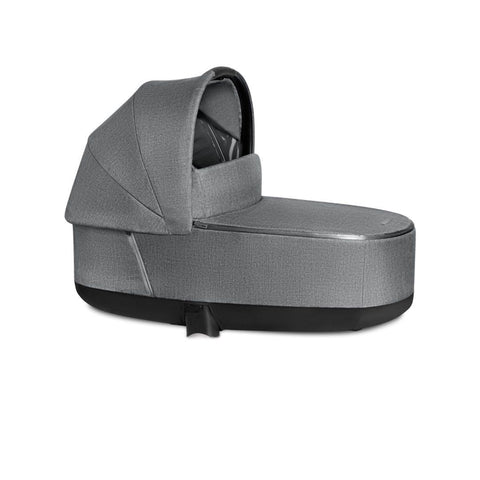 Cybex Priam Lux Cot - Plus - Manhattan Grey-Carrycots- Natural Baby Shower