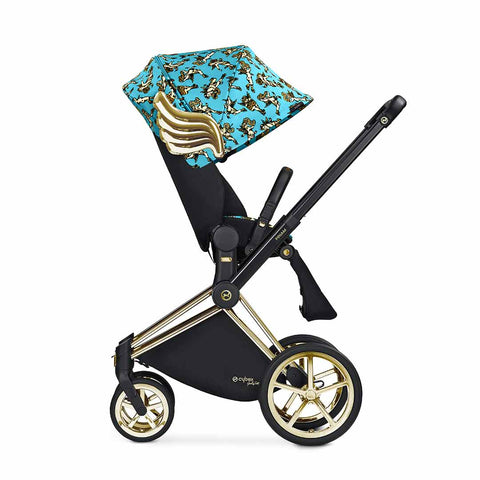 Cybex Priam Lux Seat Pushchair - Cherub Blue by Jeremy Scott 2
