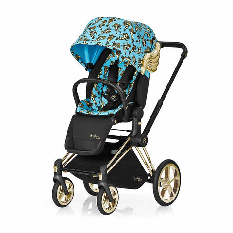 Cybex Priam Lux Seat Pushchair - Cherub Blue by Jeremy Scott