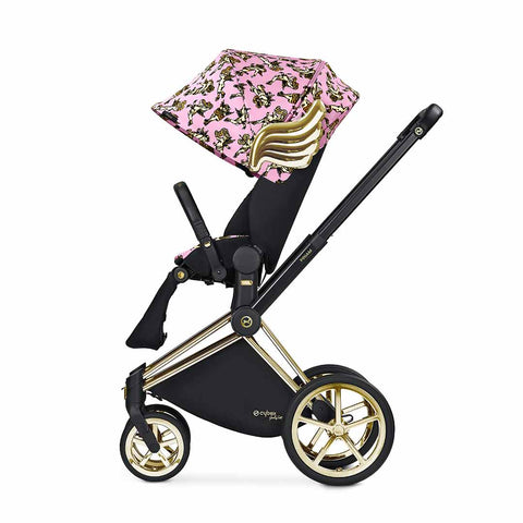 Cybex Priam Lux Seat Pushchair - Cherub Pink by Jeremy Scott 2
