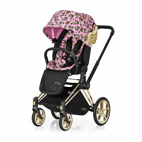 Cybex Priam Lux Seat Pushchair - Cherub Pink by Jeremy Scott