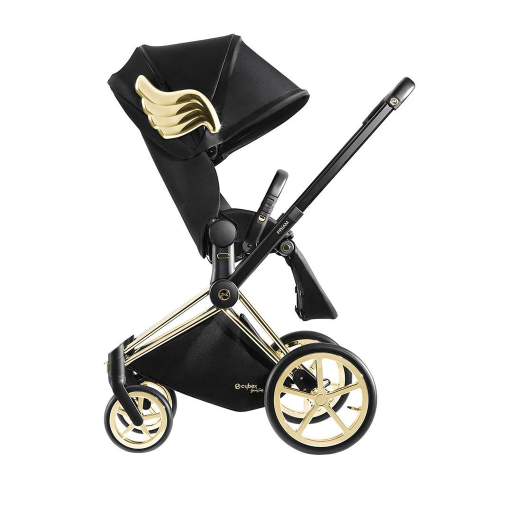 Cybex Priam Lux Seat Pushchair - Wings by Jeremy Scott 1