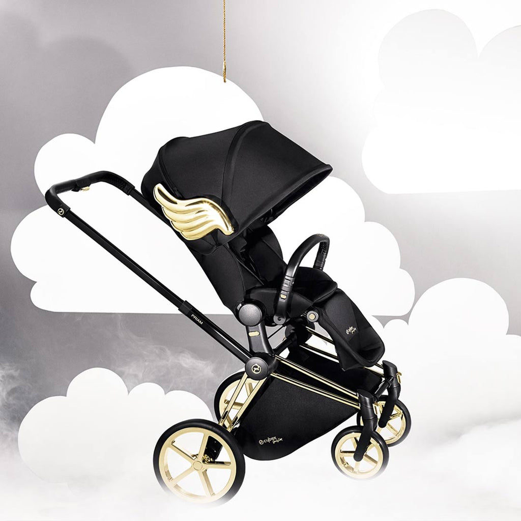 Cybex Priam Lux Seat Pushchair - Wings by Jeremy Scott 2