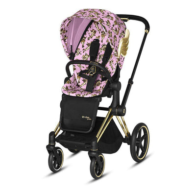 CYBEX Priam Pushchair - Cherub Pink by Jeremy Scott-Strollers-Gold-None- Natural Baby Shower