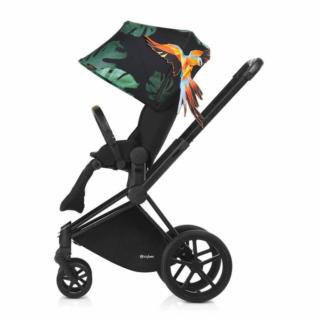 Cybex Priam Pushchair with Lux Seat - Birds of Paradise-Strollers- Natural Baby Shower