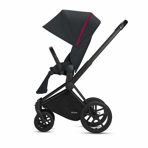 Cybex Priam Pushchair with Lux Seat - Scduderia Ferrari - Victory Black 1