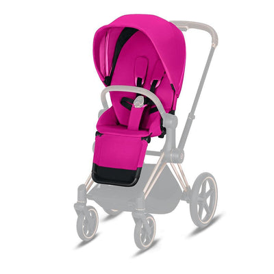 Cybex Priam Seat Pack - Fancy Pink-Colour Packs- Natural Baby Shower