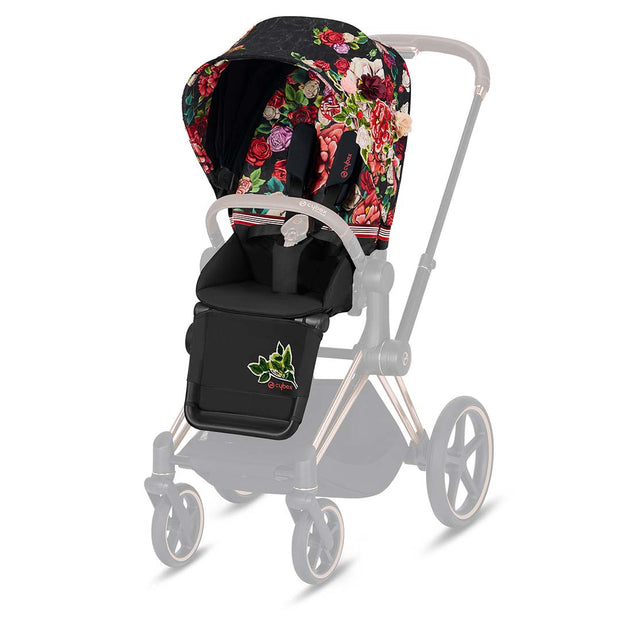 Cybex Priam Seat Pack - Spring Blossom Dark-Stroller Seats- Natural Baby Shower