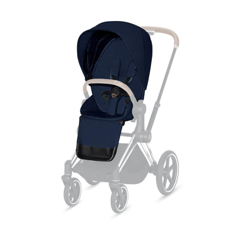 Cybex Priam Seat Pack - Plus - Midnight Blue-Stroller Seats- Natural Baby Shower