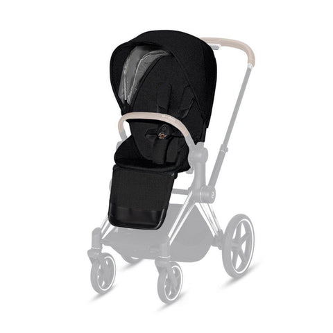 Cybex Priam Seat Pack - Plus - Stardust Black-Stroller Seats- Natural Baby Shower
