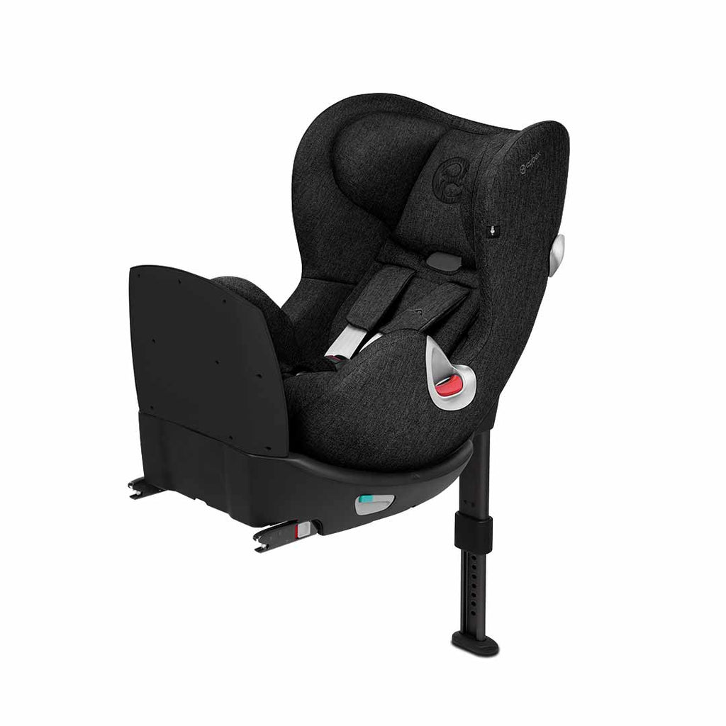 Cybex Sirona Q i-Size Plus Car Seat - Stardust Black-Car Seats- Natural Baby Shower