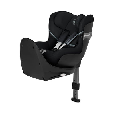 Ex-Display - CYBEX Sirona S i-Size Car Seat - Deep Black (2020)-Car Seats- Natural Baby Shower
