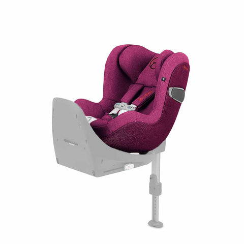Cybex Sirona Z i-Size Plus Car Seat with SensorSafe - Passion Pink-Car Seats- Natural Baby Shower