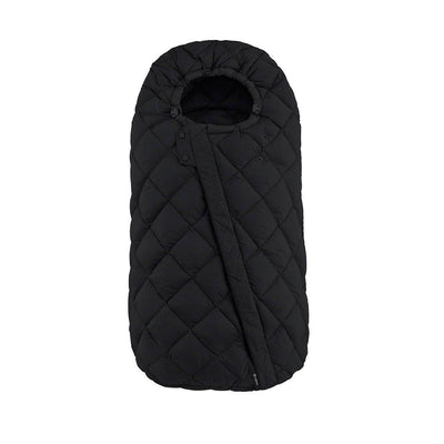CYBEX Snogga Footmuff - Deep Black-Footmuffs- Natural Baby Shower