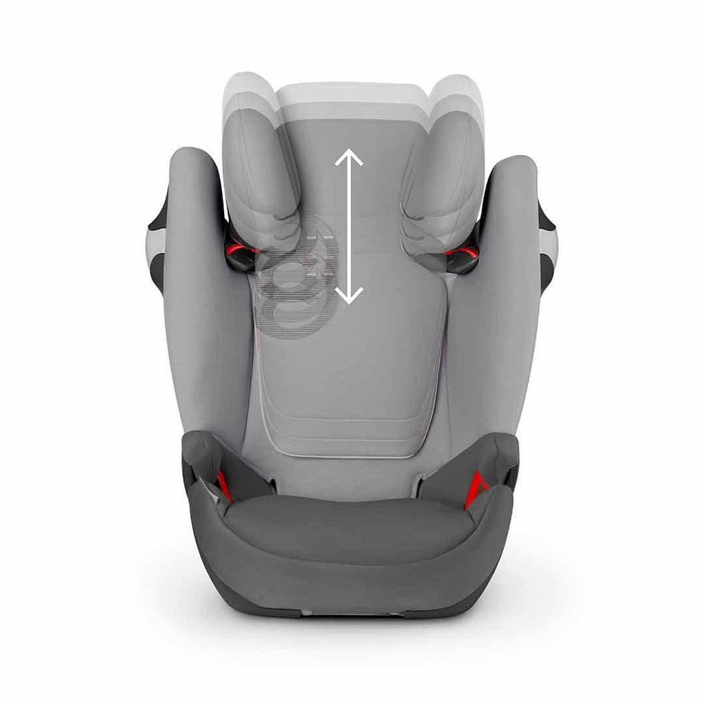 Cybex Solution M-Fix Car Seat - Infra Red Headrest