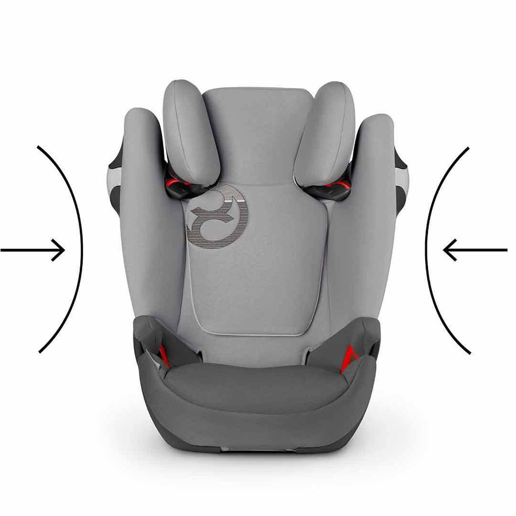 Cybex Solution M-Fix Car Seat - Manhattan Grey Impact