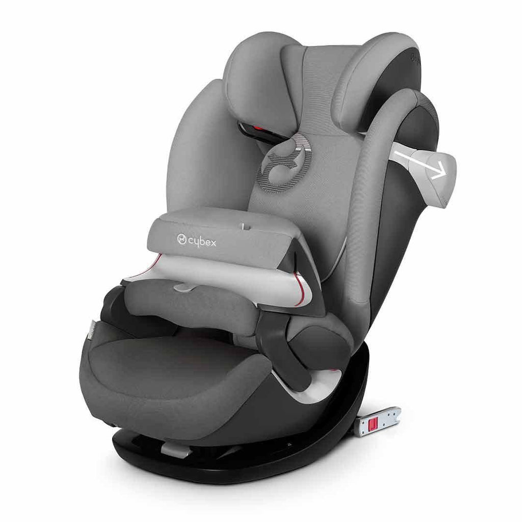 Cybex Solution M-Fix Car Seat - Manhattan Grey LSP System