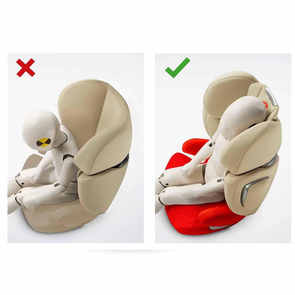 Cybex Solution Q3-Fix Plus Car Seat - Infra Red Head