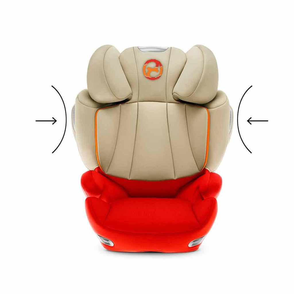 Cybex Solution Q3-Fix Plus Car Seat - Infra Red Impact