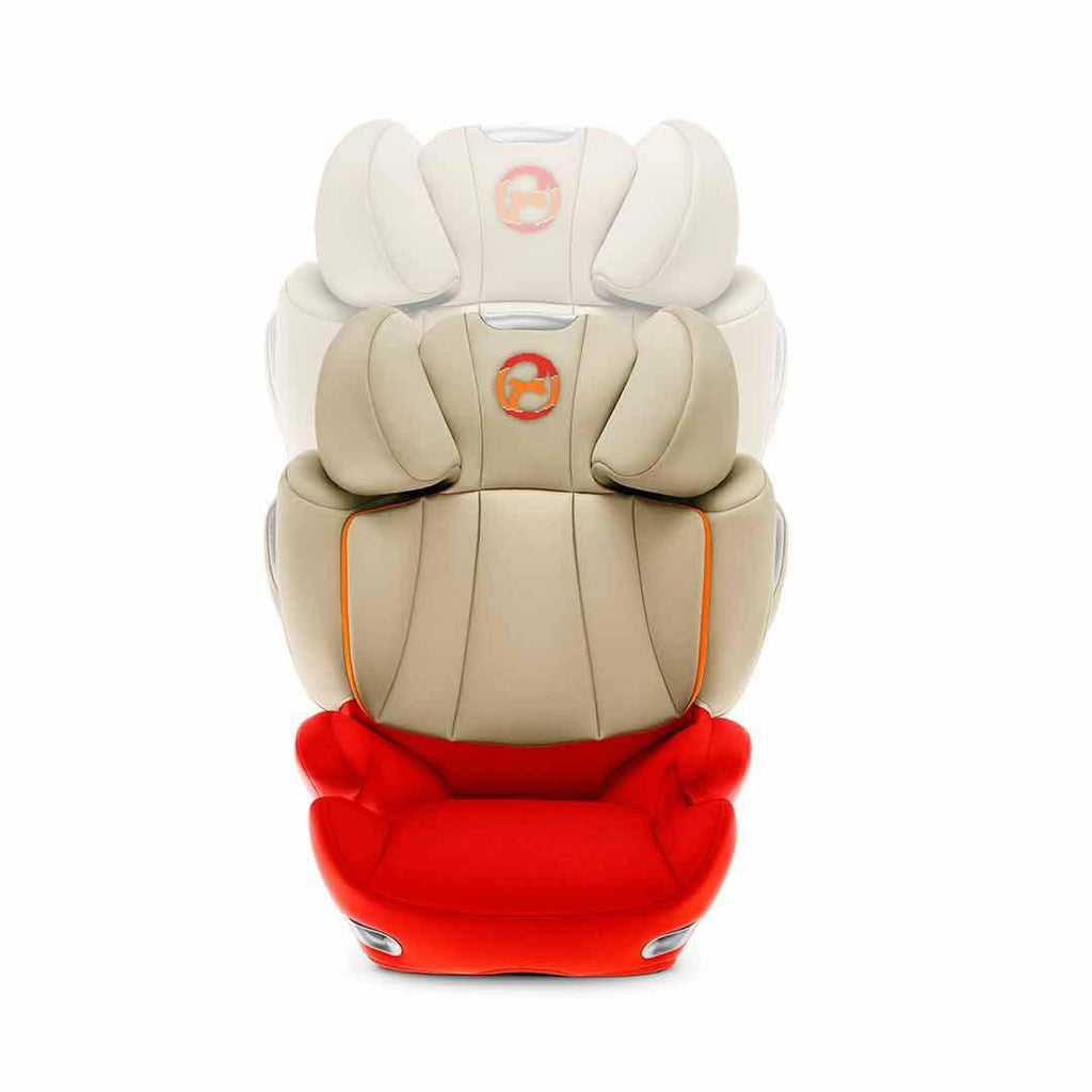 Cybex Solution Q3-Fix Car Seat Autumn Gold