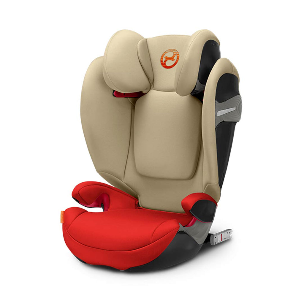 Cybex Solution S-Fix Car Seat - Autumn Gold-Car Seats- Natural Baby Shower