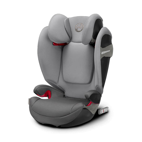 Cybex Solution S-Fix Car Seat - Manhattan Grey