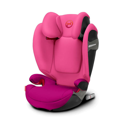 Cybex Solution S-Fix Car Seat - Passion Pink