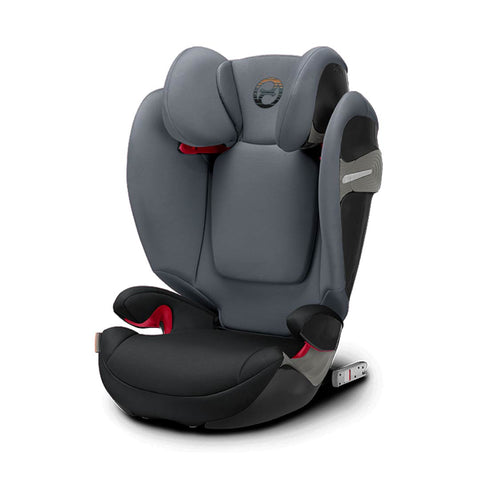 Cybex Solution S-Fix Car Seat - Pepper Black